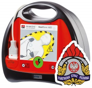 Defibrylator AED dla PSP OSP Primedic HeartSave AED KSRG